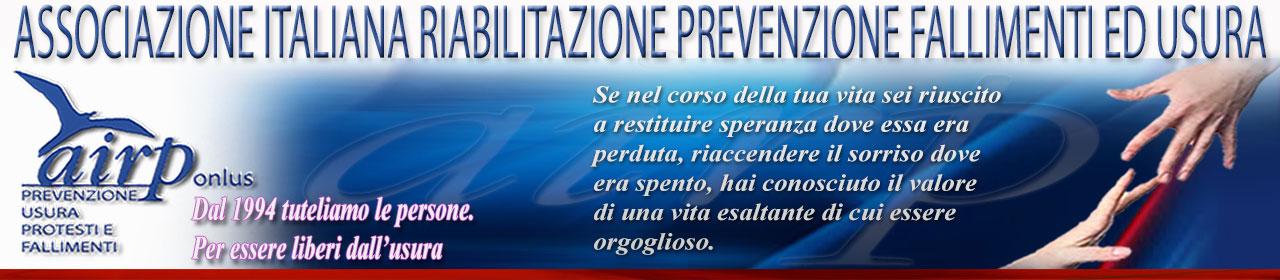 A.I.R.P. - Associazione Italiana Riabilitazione Prevenzione fallimenti ed usura